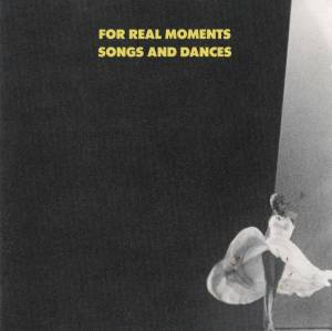 Cover - Hank Roberts: For Real Moments - Songs And Dances