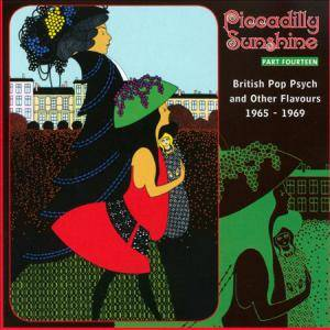 Cover - Lion Tamers: Piccadilly Sunshine - Part 14: British Pop Psych And Other Flavours 1965-1969