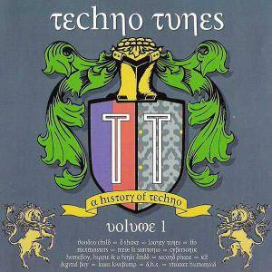 Cover - Mixmasters: Techno Tunes - A History Of Techno - Volume 1