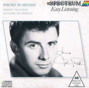 Cover - Johnny Tillotson: Poetry In Motion