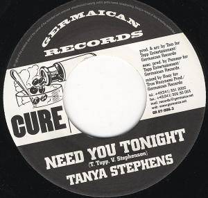 Cover - Tanya Stephens: Need You Tonight