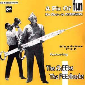 Cover - Cheeks, The: Fix Of Fun, A
