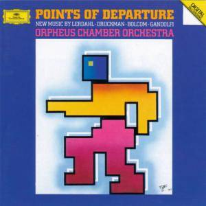 Cover - William Bolcom: Points Of Departure