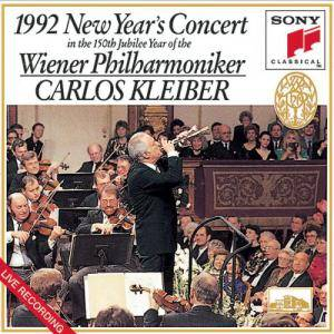 Cover - Johann Strauss (Vater): 1992 New Year's Concert