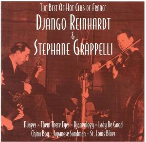 Cover - Django Reinhardt & Stéphane Grappelli: Best Of Hot Club De France, The