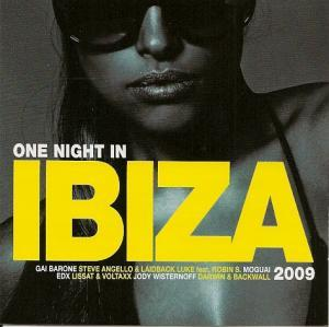 One Night In Ibiza 2009 - Cover