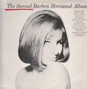 Cover - Barbra Streisand: Second Barbra Streisand Album, The