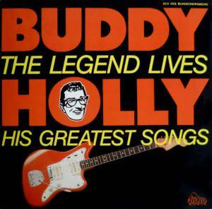 Buddy Holly: The Legend Lives - His Greatest Songs - Cover