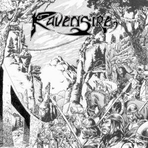 Ravensire: We March Forward - Cover