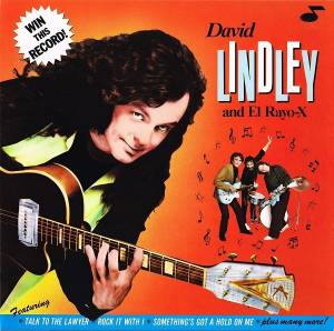 David Lindley & El Rayo-X: Win This Record! - Cover