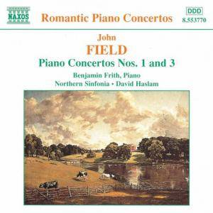 Cover - John Field: Piano Concertos Nos. 1 And 3