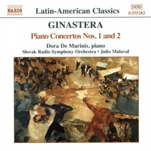 Cover - Alberto Ginastera: Piano Concertos Nos. 1 And 2