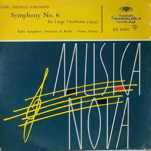 Cover - Karl Amadeus Hartmann: Symphony No. 6 For Large Orchestra (1953)