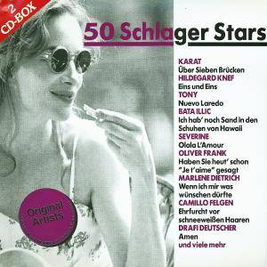 Cover - Suzanna Nais: 50 Schlager Stars