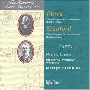 Cover - Hubert Parry: Piano Concerto In F Sharp Major / Piano Concerto No. 1 In G Major