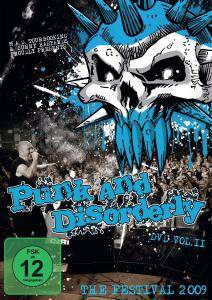 Cover - Middle Finger Salute: Punk And Disorderly DVD Vol. II - The Festival 2009