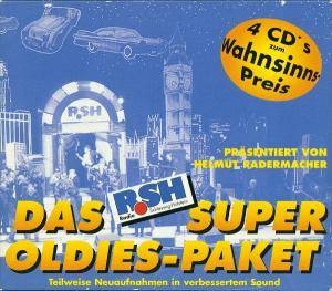 das rsh super oldies paket pr sentiert von helmut radermacher 4 cd 1997 pappschuber. Black Bedroom Furniture Sets. Home Design Ideas