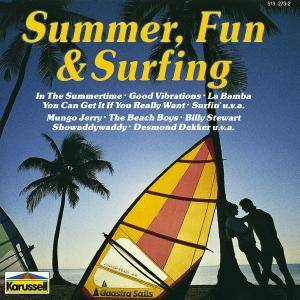 Summer, Fun & Surfing - Cover