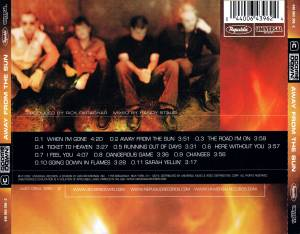 3 Doors Down: Away From The Sun (CD) - Bild 6