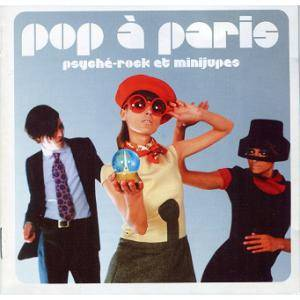 Pop À Paris - Psyché-Rock Et Minijupes - Cover