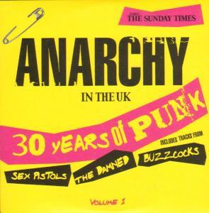 Anarchy In The UK Volume 1 - 30 Years Of Punk - Cover