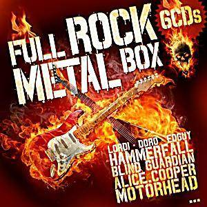 Cover - Section A: Full Rock Metal Box