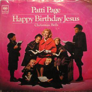 Cover - Patti Page: Happy Birthday, Jesus (A Child's Prayer)