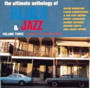 "Cover - Richard ""Rabbit"" Brown: Ultimate Anthology Of Blues & Jazz, Vol.3 - New Orleans/ Louisiana"
