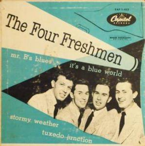 Cover - Four Freshmen, The: It's A Blue World
