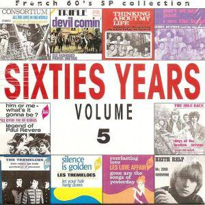 Cover - Consortium: French 60's SP Collection - Sixties Years Vol. 5