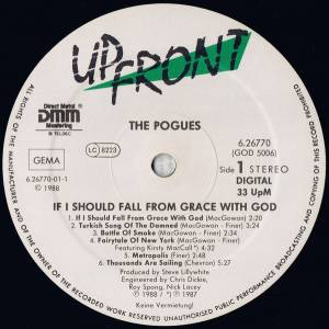 The Pogues: If I Should Fall From Grace With God (LP) - Bild 3