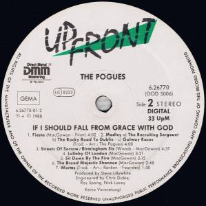 The Pogues: If I Should Fall From Grace With God (LP) - Bild 4