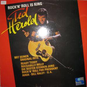 Cover - Ted Herold: Rock'n Roll Is King