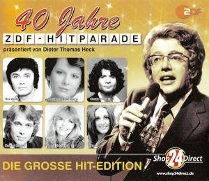 Cover - Stefan Waggershausen & Viktor Lazlo: 40 Jahre ZDF-Hitparade