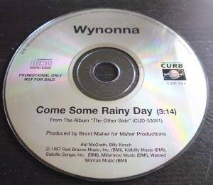 Cover - Wynonna: Come Some Rainy Day