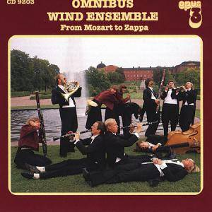 Cover - Johan Helmich Roman: Omnibus Wind Ensemble - From Mozart To Zappa