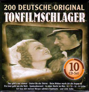 Cover - Willy Fritsch: 200 Deutsche Original Tonfilmschlager