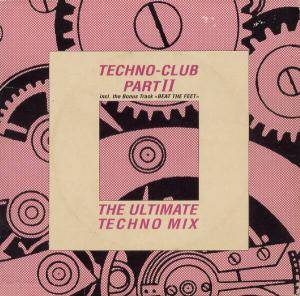 Cover - Klangwerk: Techno-Club Part II (The Ultimate Techno Mix)
