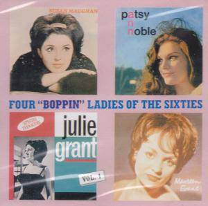 "Cover - Maureen Evans: Four ""Boppin"" Ladies Of The Sixties"