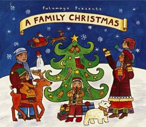 Cover - Sam Bush: Family Christmas, A