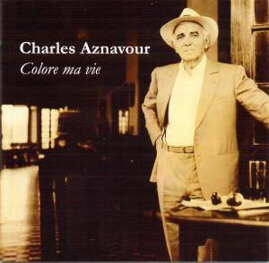 Charles Aznavour: Colore Ma Vie - Cover