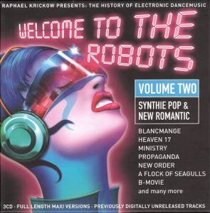 Cover - Hong Kong Syndikat: Welcome To The Robots - Volume Two