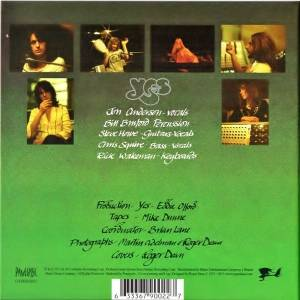 Yes: Close To The Edge - CD + Blu-Ray Audio (2013, Re