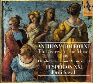Cover - Anthony Holborne: Teares Of The Muses 1599, The