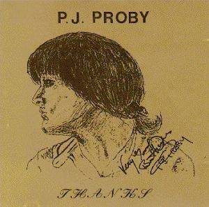 Cover - P.J. Proby: Thanks