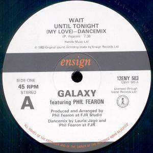 Cover - Phil Fearon & Galaxy: Wait Until Tonight (My Love)