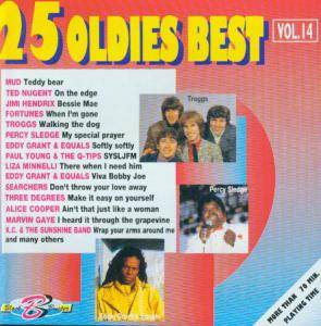 Cover - Blonde On Blonde: 25 Oldies Best Vol.14