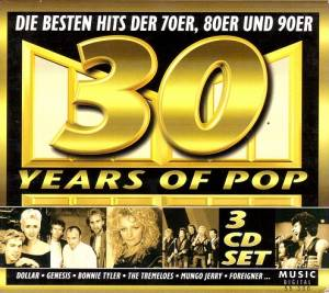 Cover - Tom Jones & Mousse T.: 30 Years Of Pop