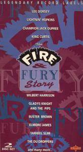 Cover - Red Prysock: Legendary Record Labels: The Fire & Fury Story