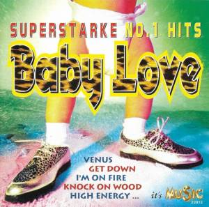 Cover - Joe Dolce: Baby Love - Superstarke No.1 Hits